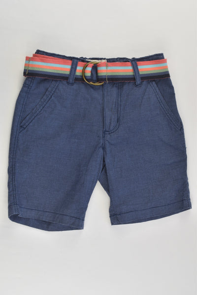 Jack & Milly Size 1 Stretchy Shorts and Belt