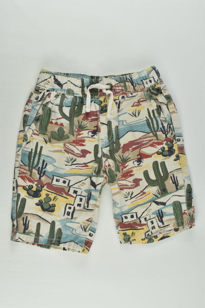 Jack & Milly Size 4 Cactus and Scorpion Shorts