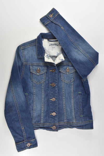 Johnnie B by Boden Size 9-10 Stretchy Denim Jacket