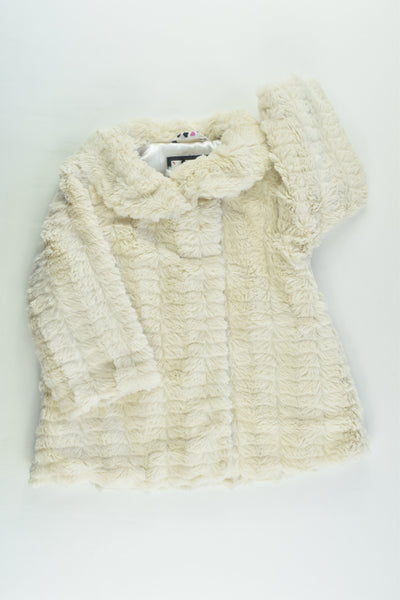 Junior J by Jasper Conran (Debenhams) Size 0 (9-12 months) Fluffy Jacket