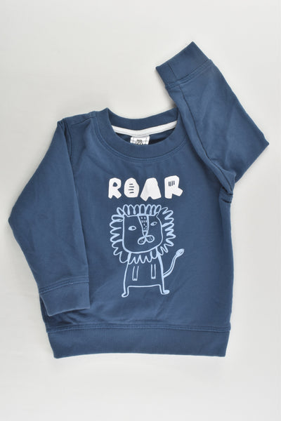Kids & Co Size 1 (12-18 months) Lion 'Roar' Sweater