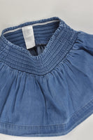 Kids & Co Size 1 Lightweight Denim Skirt