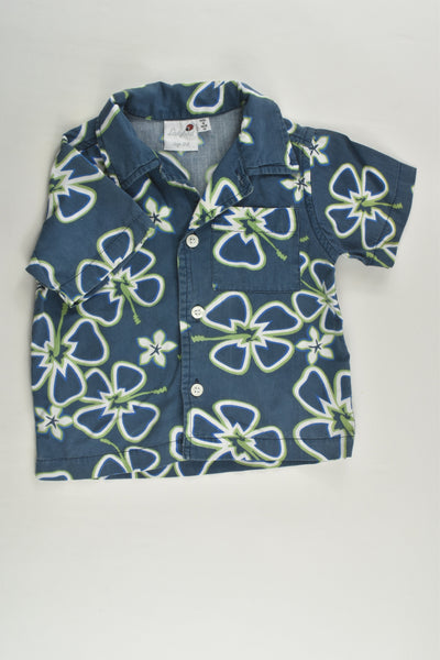 Lady Bird Size 00 Floral Shirt