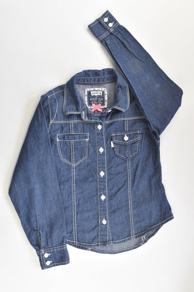 Levi's Size 4 Lightweight Denim Shirt