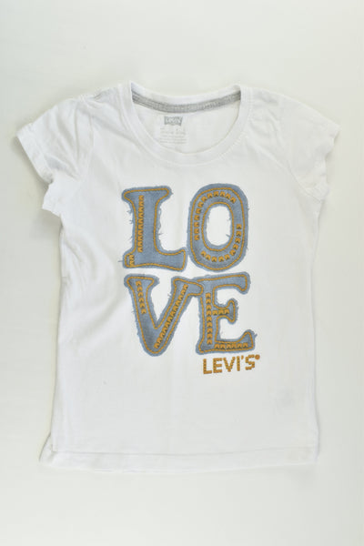 Levi's Size 6-7 'Love' T-shirt