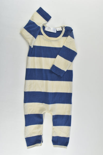 Little Bonbon (AU) Size 00 Blue Merino Wool Romper