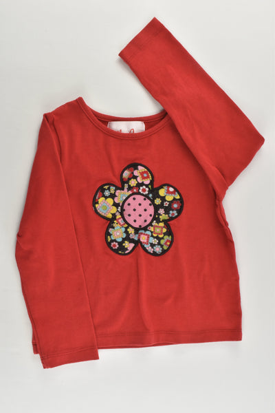 Little Leona Size 3 Flower Top