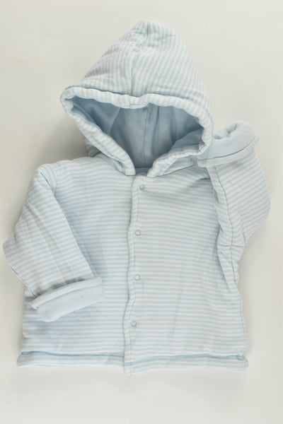 Little Me (US) Size 00 Reversible Hooded Padded Jumper