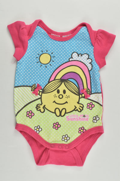 Little Miss Sunshine Size 000 Bodysuit