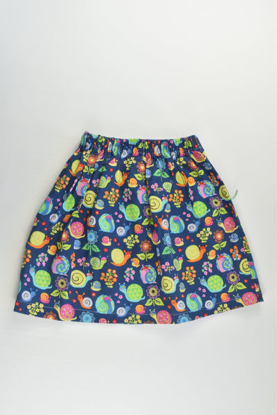 Little Pea Creation Size approx 4-6 Snails in the Garden Handmade Skirt
