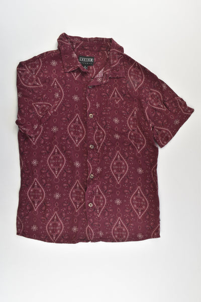 Lucid Size 12 Rayon Shirt