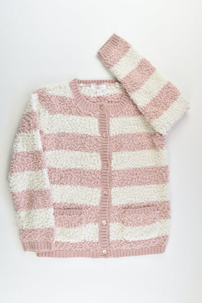 Lucie & Marc Size 6 Soft Knitted Cardigan