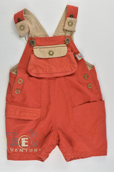 Marese Size 000 (3 months, 60 cm) 'Treck Adventure' Short Overalls