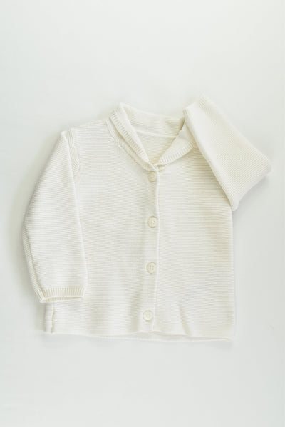 Marks & Spencer Size 00 (3-6 months) Knitted Cardigan