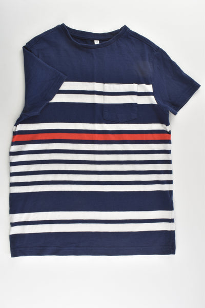 Marks & Spencer Size 8-9 Striped T-shirt