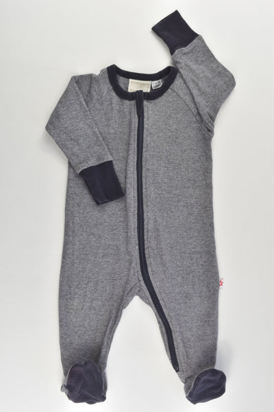 Marquise Size 00 Footed Romper
