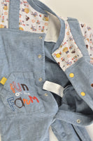 Mides Size 0 (9 months) 'Fun On The Farm' Playsuit