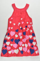 Milkshake Size 3 Love Hearts Lined Dress
