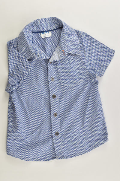 Milky Size 1 Collared Shirt