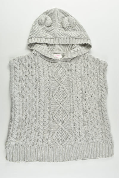 Milky Size approx 4-6 Knitted Hooded Vest