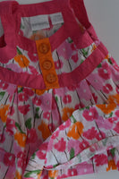 Miniwear Size 0 (12 months) Floral Outfit