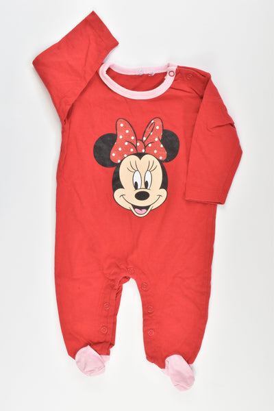 Minnie Mouse Size 0000 Romper