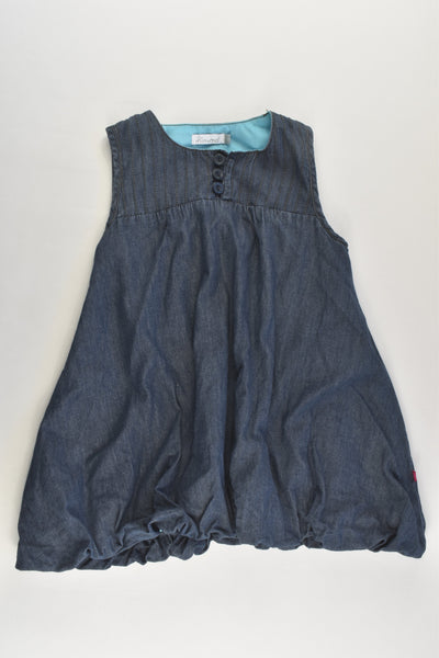 Minymo (Denmark) Size 1 (80 cm) Lined Denim Dress
