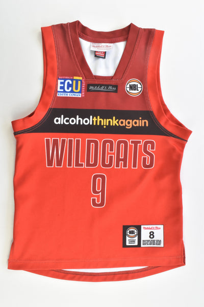 Mitchell & Ness Size 8 NBL Wildcats Knigth Jersey