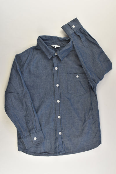 Mix Kids Size 6 Lightweight Denim Shirt