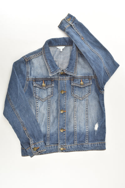 Mix Kids Size 7 Denim Jacket with Star Buttons