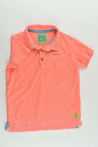 Mothercare Size 2-3 (98 cm) Fluoro Collared T-shirt