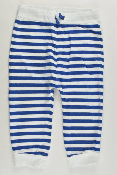 M&S Size 1 (12-18 months) Striped Track Pants