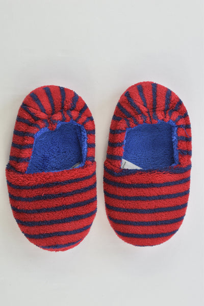 M&S Size UK 7 Striped Home Slippers