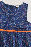 Name It Size 2-3 (98 cm) Love Hearts Lined Dress