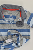 NEW BabiesRus Size 00 (3-6 months) Collared Playsuit with Elephant Pocket