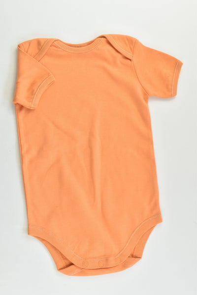 NEW Baby Club by Target Size 1 Orange Bodysuit