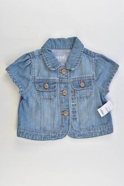 NEW Baby Gap Size 1 (12-18 months) Denim Jacket