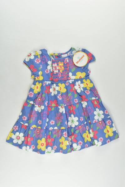 NEW Bluezoo (Debenhams) Size 0 (9-12 months) Floral Dress