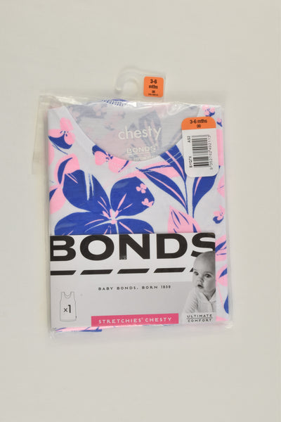 NEW Bonds Size 00 (3-6 months) Floral Chesty