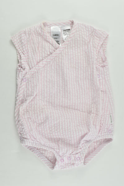 NEW Bonds Size 00 (3-6 months) Striped Summer Romper
