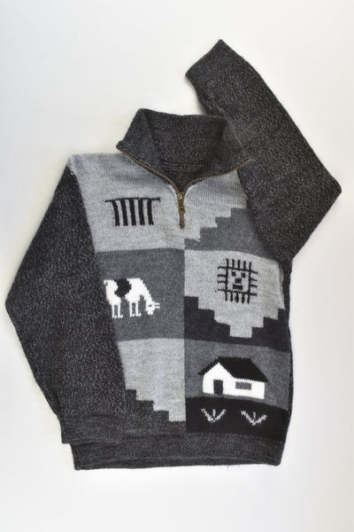 NEW Brand Unknown Size approx 5 Knitted Jumper