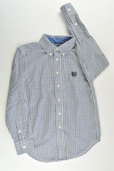 NEW Chaps Size 8 Checked Shirt