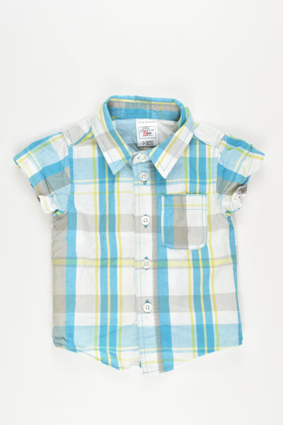 NEW Charlie & Me Size 000 (0-3 months) Collared Shirt