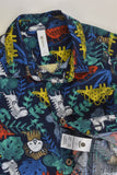 NEW Dymples Size 1 Animals Collared Shirt