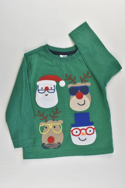 NEW F&F Size 2 (92 cm) Christmas Top