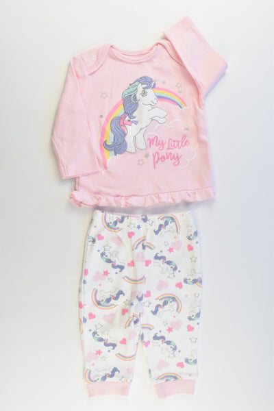 NEW George Size 00 (3-6 months, 62-68 cm) My Little Pony Outfit