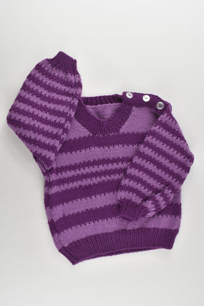 NEW Handmade Size approx 2-3 Knitted Jumper