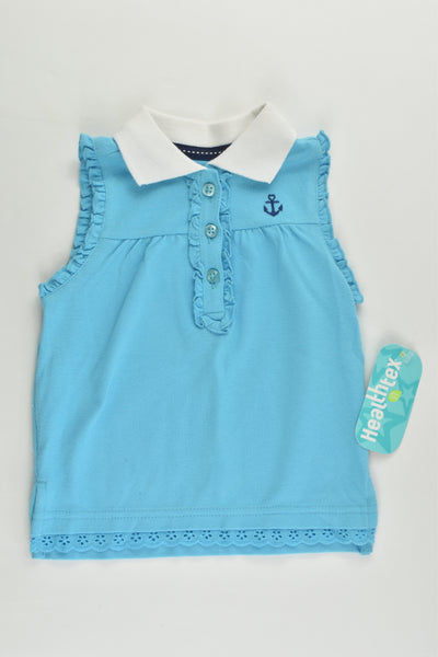 NEW Healthtex Size 1 (18 months) Nautical Polo Shirt