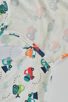 NEW Just To You Size approx 0-6 months Vehicles Swaddle