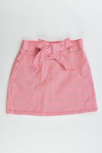 NEW Kids & Co Size 5 Striped Stretchy Skirt
